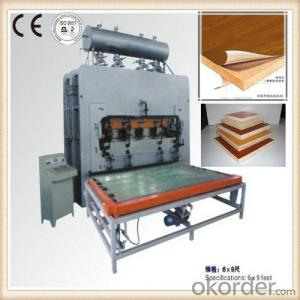 Short Cycle Melamine Laminating Hot Press Machine