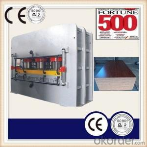 Two Sides Short Cycle Lamination Hot Press for Particle Board