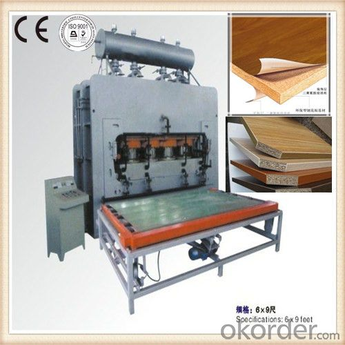Hot Press Machine Decorative Furniture Moulding