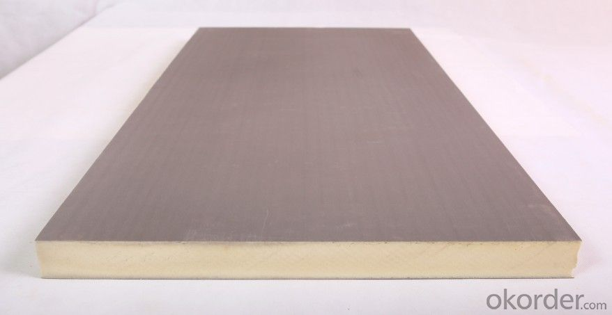 PIR/PU Insulation Board for Building with CE & SGS Certification