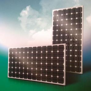 Silicon Solar Panels with Different Power Output