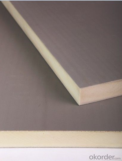 PIR/PU Insulation Board for Wall and Roof Energy Saving with CE and SGS Certification