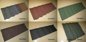 African Style Stone Coated Metal Roofing Tile