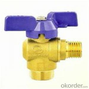 Brass Angle Valve With Chrome Plated/Brass Ángulo Válvula Con cromo plateado
