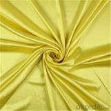 Plain Dyed Heavy Satin Fabric for Women Wedding Dress Textile, Polyester Heavy Satin Fabric