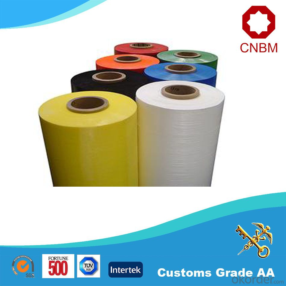 Stretch Film Popular China Hot Sale Lldpe Colorful