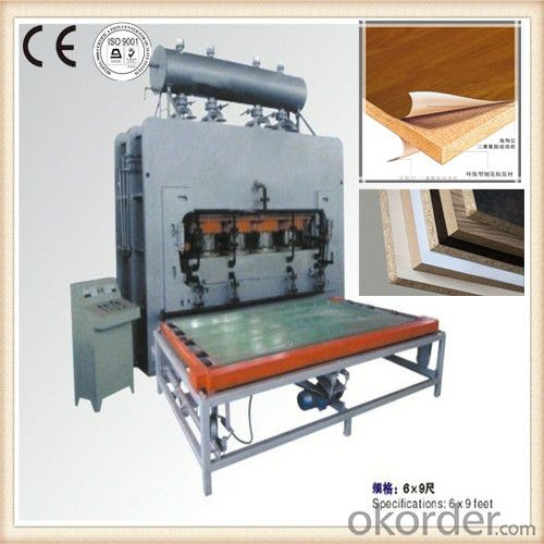 High Pressure Laminate Hot Press Machine