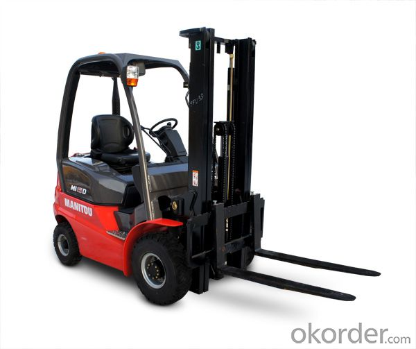 Small  Electric Forklift 1.5ton 3.5m Electric Powered