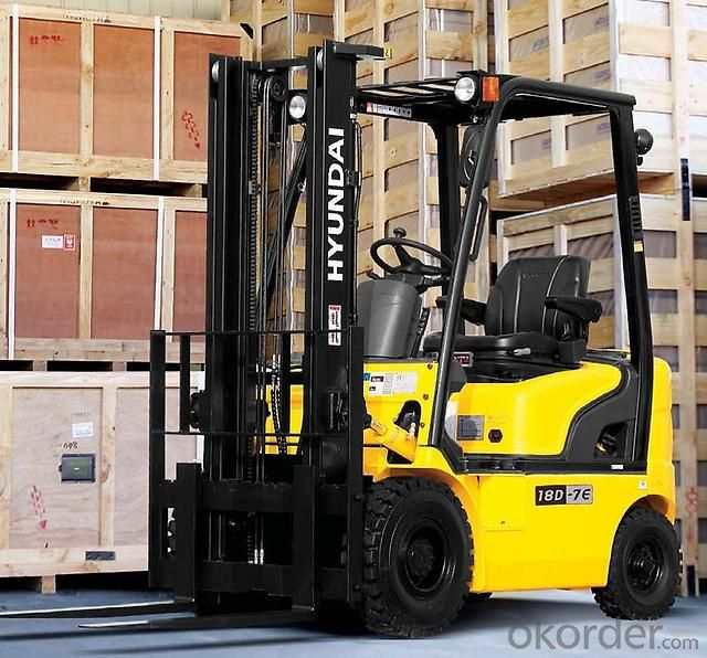 Forklift Truck 2.5t CNG Gas  with  Engine (FGL25CTJ)