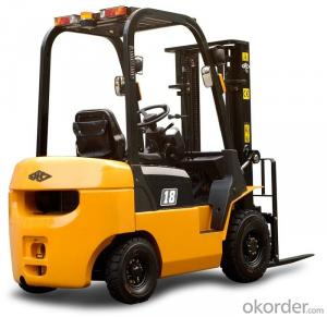 Truck with 7.0t Diesel Forklift  6meter Mast Height