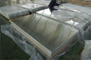 Aluminium Sheet For Building Material Plain Roofing 1100 H24