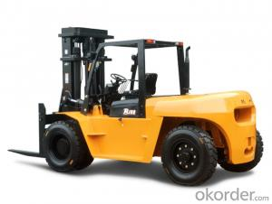 Forklift Truck 2ton Battery Power Electric