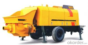 Concrete Pump Trailer Pump Diesel Engine HBTS90