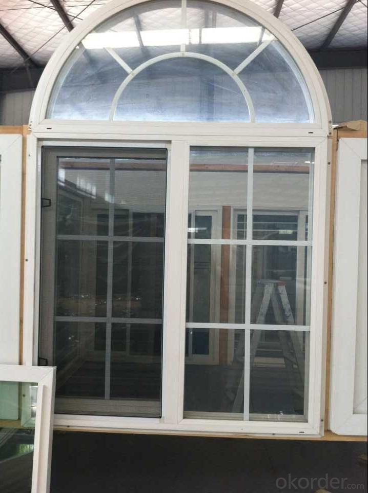 Single Hung Vinyl Window,American Style PVC Hung Window