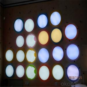 Led Flood Light Bulbs Square Round Profile Surface Mounted 8w 12w 15w Panel