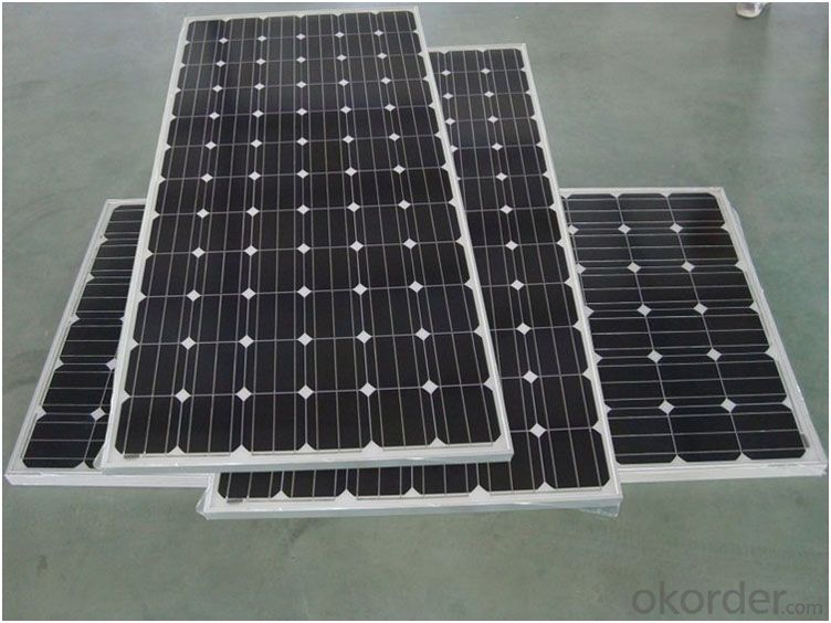 55W Mono Solar Panel Solar Module with High Quality