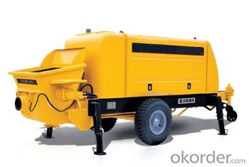 Concrete Pump Trailer Pump Diesel Engine HBTS80