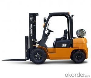 Forklift Truck 2000kg Four Wheels Electric