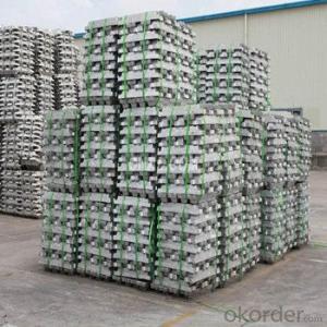 Aluminum Pig/Ingot With 99.7% Putity For Choice