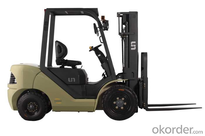 Forklift Truck  Gas/LPG with Good Price (SH35FR)