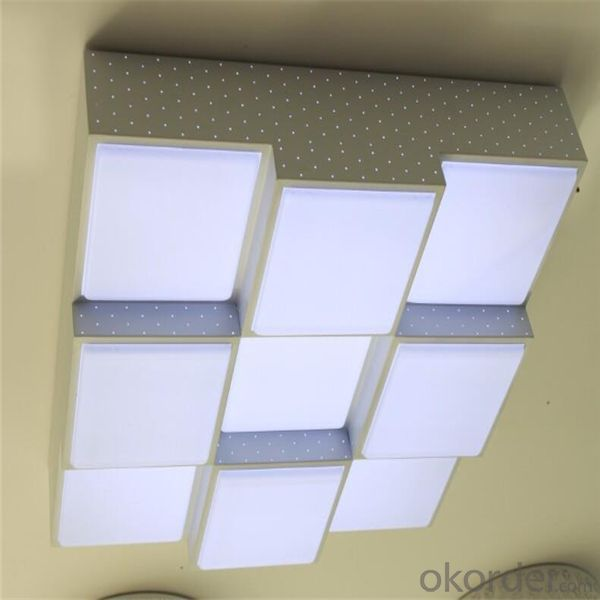 Ceiling Led Lights Square Round Profile Surface Mounted 8w 12w 15w Panel