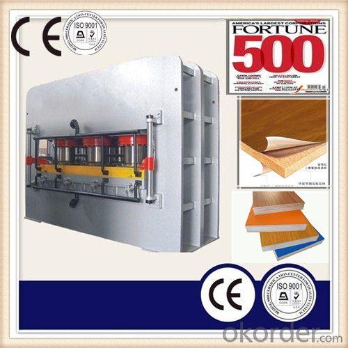Surface Laminating Hot Press Machine/Wood Board Veneer Press