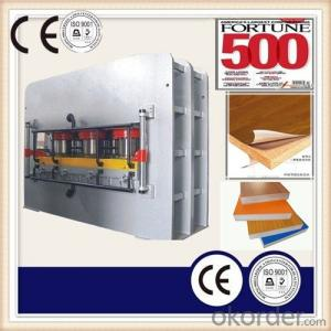 Surface Laminating Hot Press Machine/Wood Board Veneer Press