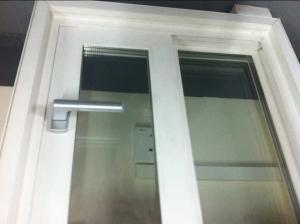 European Syle Waterproof Bath Room PVC Top Hung Window at Factory Price