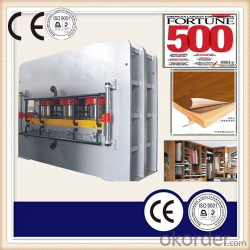 Wood Furniture Board Moulding Hot Press Machine