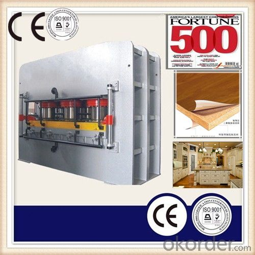 Wood Panels Press /Melamine Veneer Laminating Machine