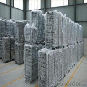 Aluminum Pig/Ingot With High Quality And Hight Purity