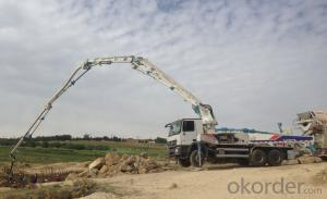 ZOOMLION Concrete Pump Truck 38X-5RZ