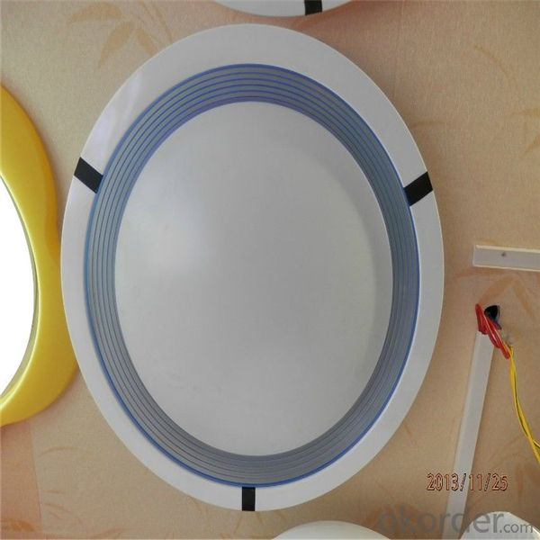 Red Led Lights Square Round Profile Surface Mounted 8w 12w 15w Panel