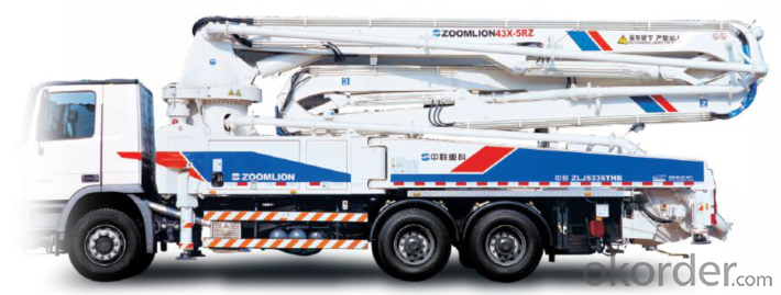 ZOOMLION Concrete Pump Truck 43X-5RZ