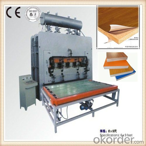 Hydraulic Kitchen Cabinet Veneer Machine