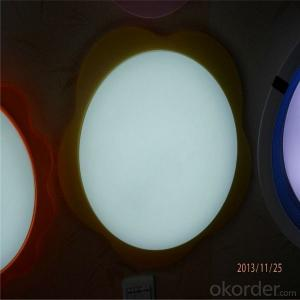 Indoor Led Lighting Square Round Profile Surface Mounted 8w 12w 15w Panel