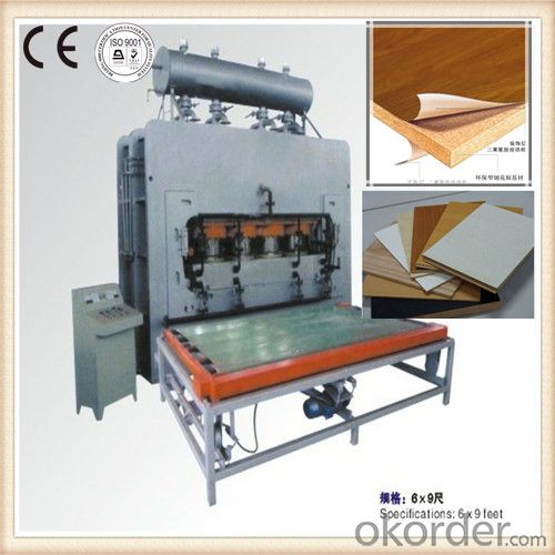 Furniture Board Monolayer Hot Press Machine