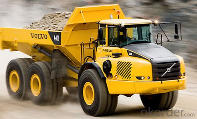 Dump Truck 3 Axles ISO CCC Approved Side Lifting