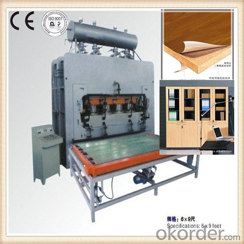 CE Certificated Short Cycle Hydraulic Hot Press Machine