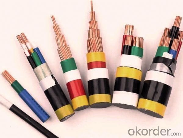 Copper Conductor PVC Insulation PVC Jacket 3 Cores Cable Wire