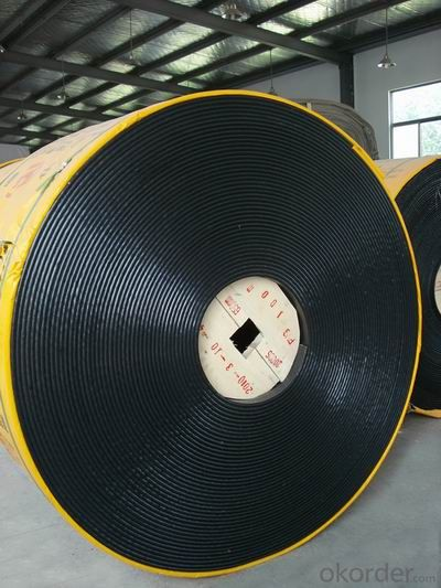 PVG Cover Solid Woven Conveyor Belt