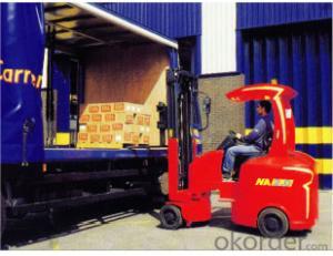 Narrow Aisle  Four  Wheel Electric Forklift-NA 2.0