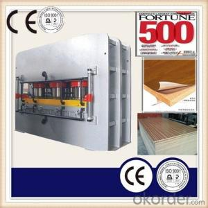 Particle Board Lamination Hot Press Machine