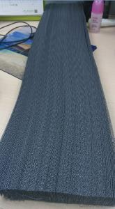 2015 new design polyester pleated screen mesh for window