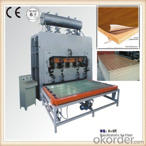Semi-automatic Verneering Heat Press Machine
