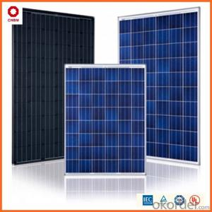 255W ,Poly Solar Panels with CE,TUV,UL,ETL,MCS Certificates