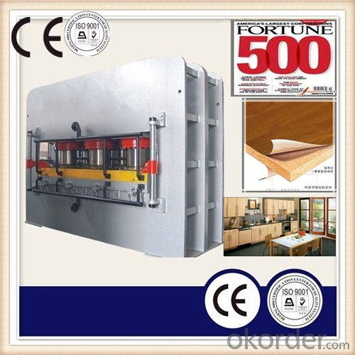 Wooden Laminated Partical Boards Machine