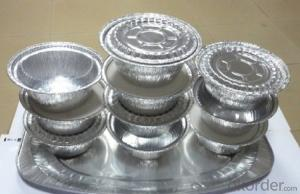 Disposable Aluminum Foil for Food Serving Platters, Trays, Plates and Dishes