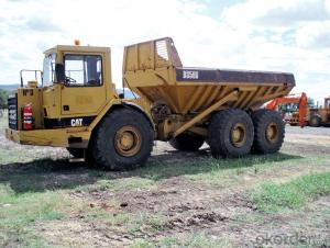 Dump Truck 15tons Small  8X4 375HP Mining