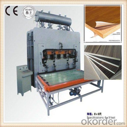 Automatic Veneer Furniture Plate Hot Press Machine